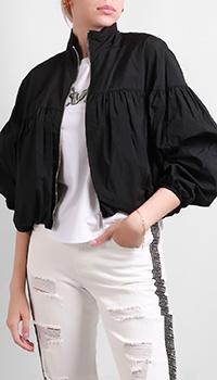Черная куртка Silvian Heach на молнии, фото