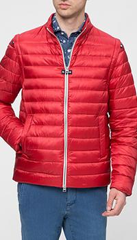 Мужская куртка Herno красного цвета, фото