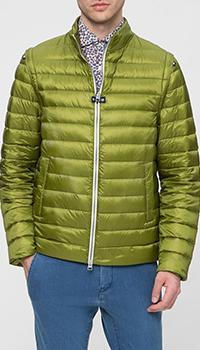 Куртка Herno зеленого цвета, фото