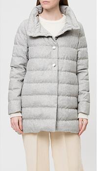 Серая куртка Herno с воротником-стойкой, фото