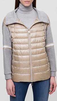 Женская куртка Herno песочного цвета, фото