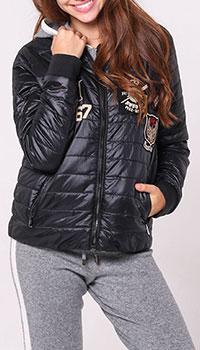 Куртка Polo Ralph Lauren черного цвета с принтом, фото