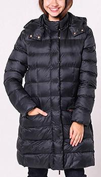 Черная куртка Ea7 Emporio Armani с капюшоном, фото