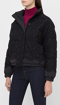 Куртка с кружевом Twin-Set в черном цвете, фото