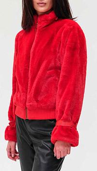 Короткая куртка Twin-Set красного цвета, фото