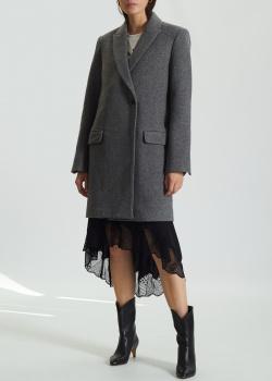 Шерстяное пальто Zadig & Voltaire прямого кроя, фото