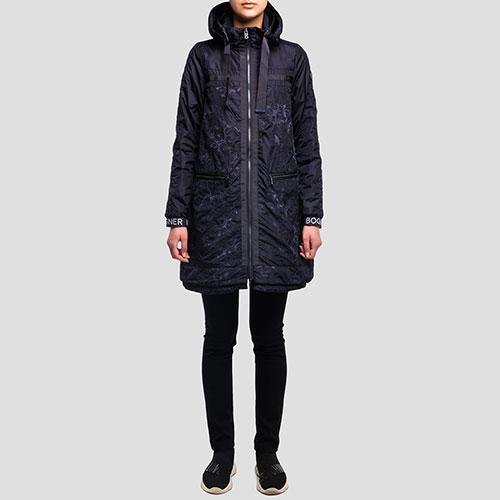 Темно-синяя куртка Bogner Rabia с вышивкой, фото
