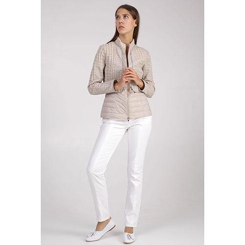Демисезонная куртка +MINI бежевого цвета, фото