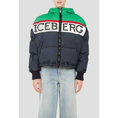 Куртка-оверсайз Iceberg синего цвета, фото
