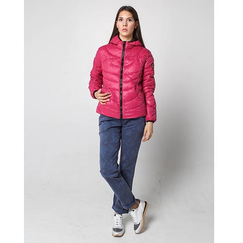 Куртка Ciesse Piumini розового цвета на пуху, фото