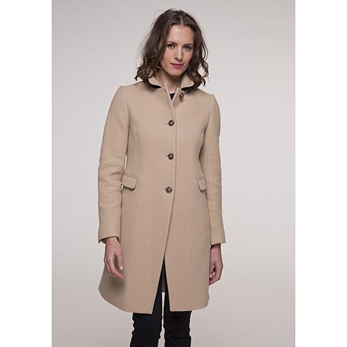 Классическое пальто Trench & Coat бежевого цвета, фото