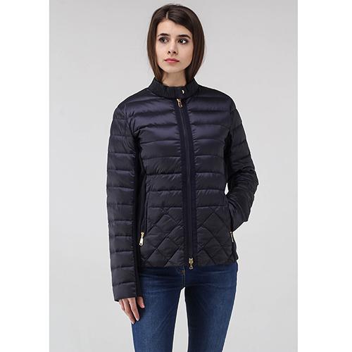 Синяя куртка Bogner с горизонтальной строчкой, фото