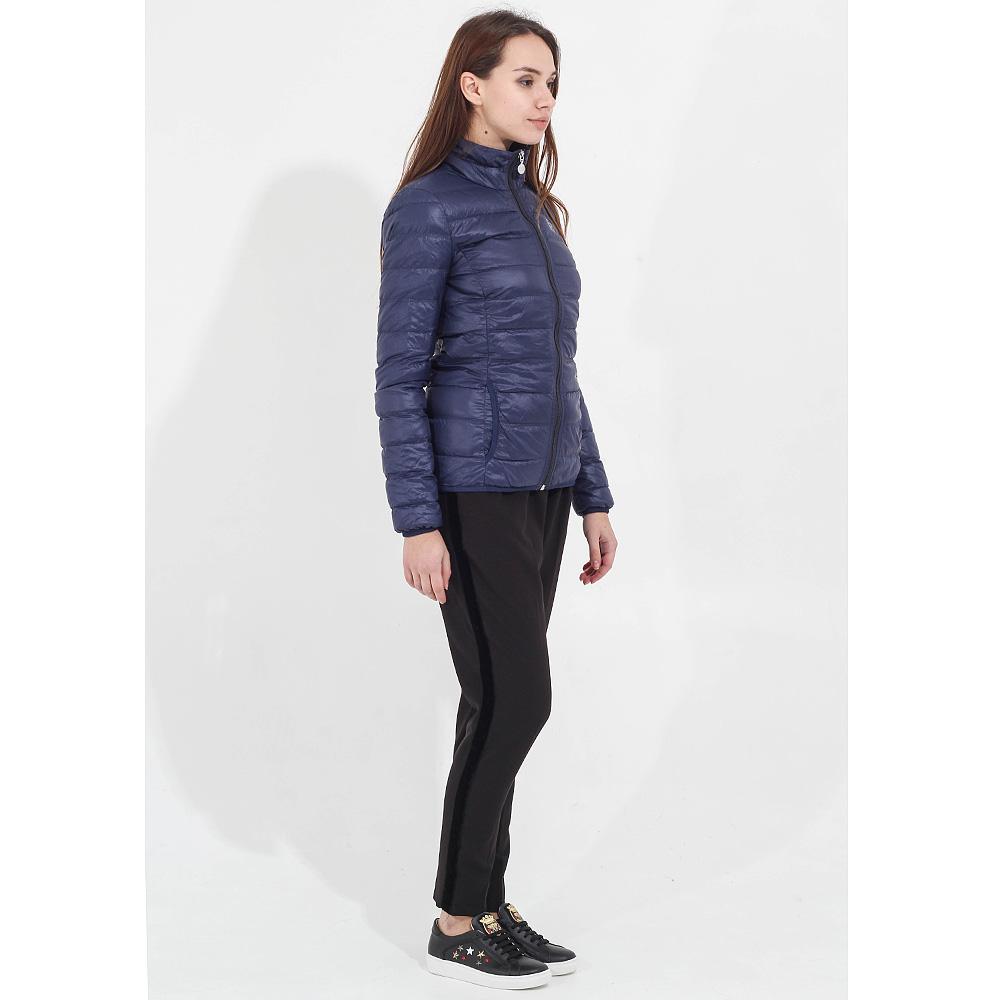 Легкая пуховая куртка Ea7 Emporio Armani синяя