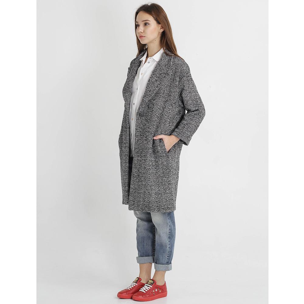 Пальто Tensione in прямого кроя на одну пуговицу