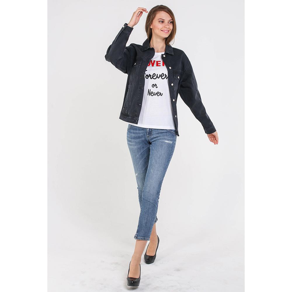 Джинсовая куртка Quantum Courage черного цвета