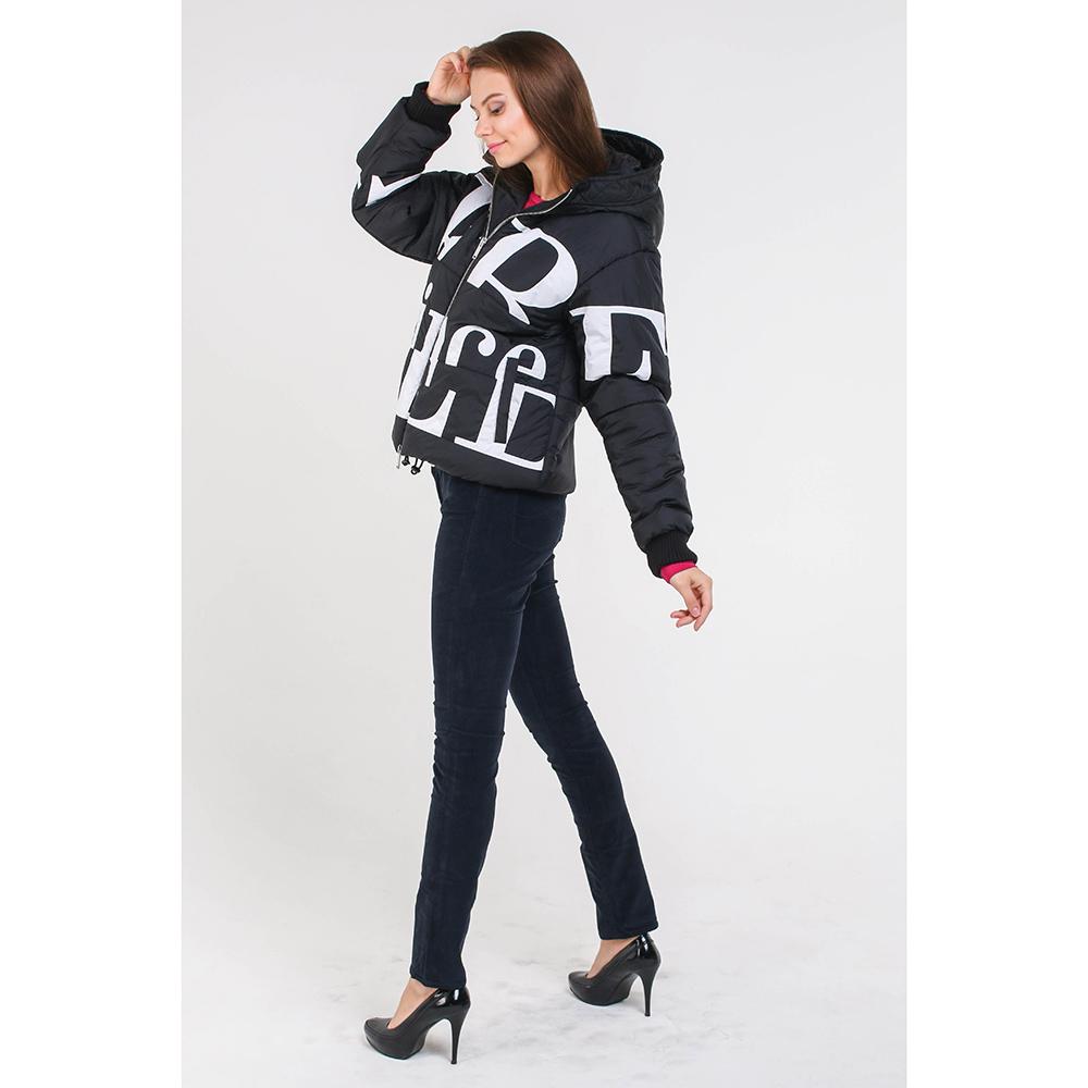 Черная куртка Iceberg с капюшоном