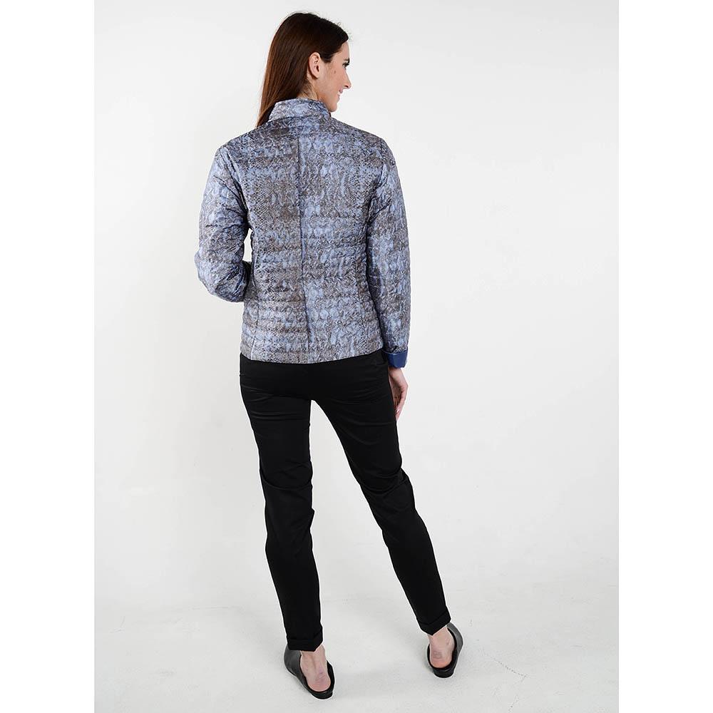 Демисезонная куртка на пуговицах Cerruti с анималистическим принтом