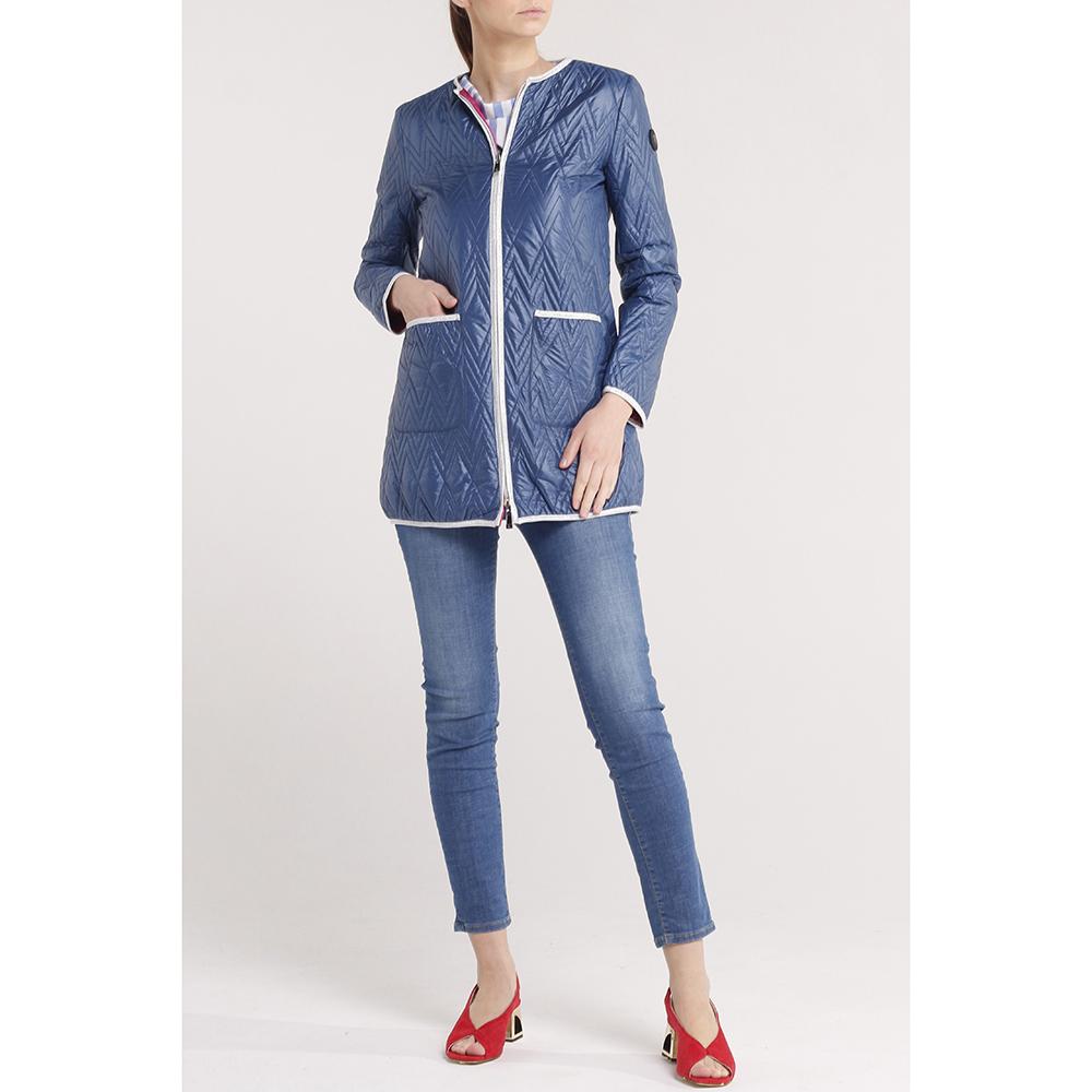 Двухсторонняя куртка Trussardi Jeans с геометрической стежкой