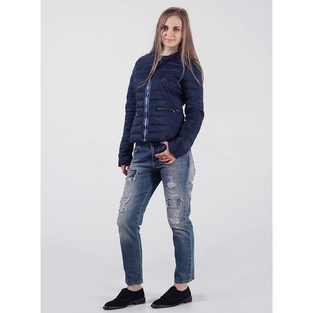 Куртка Rinascimento синего цвета