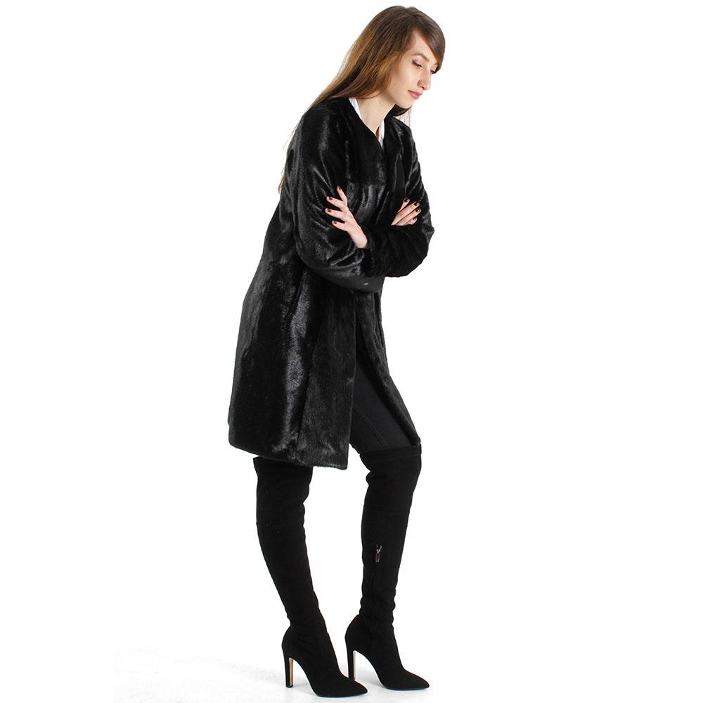 Пальто Urbancode London из искусственного меха пони