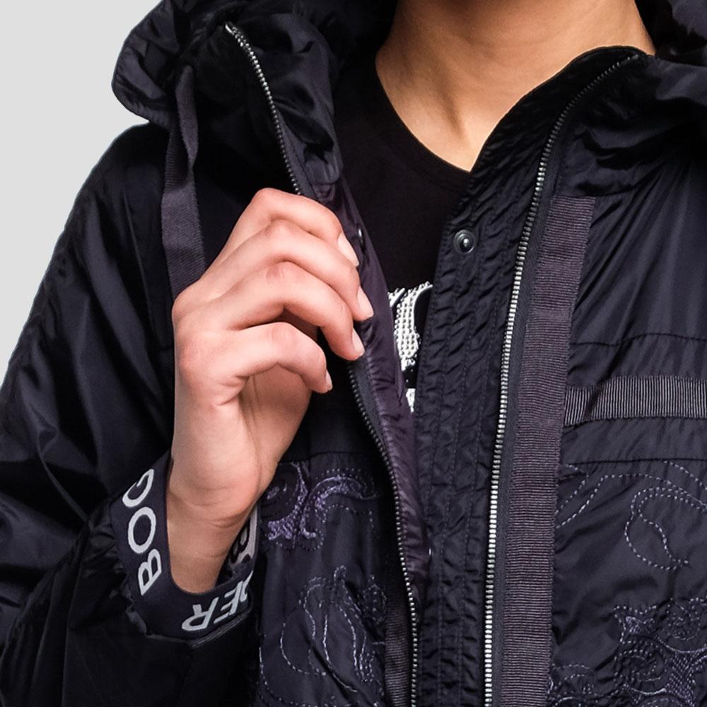 Темно-синяя куртка Bogner Rabia с вышивкой