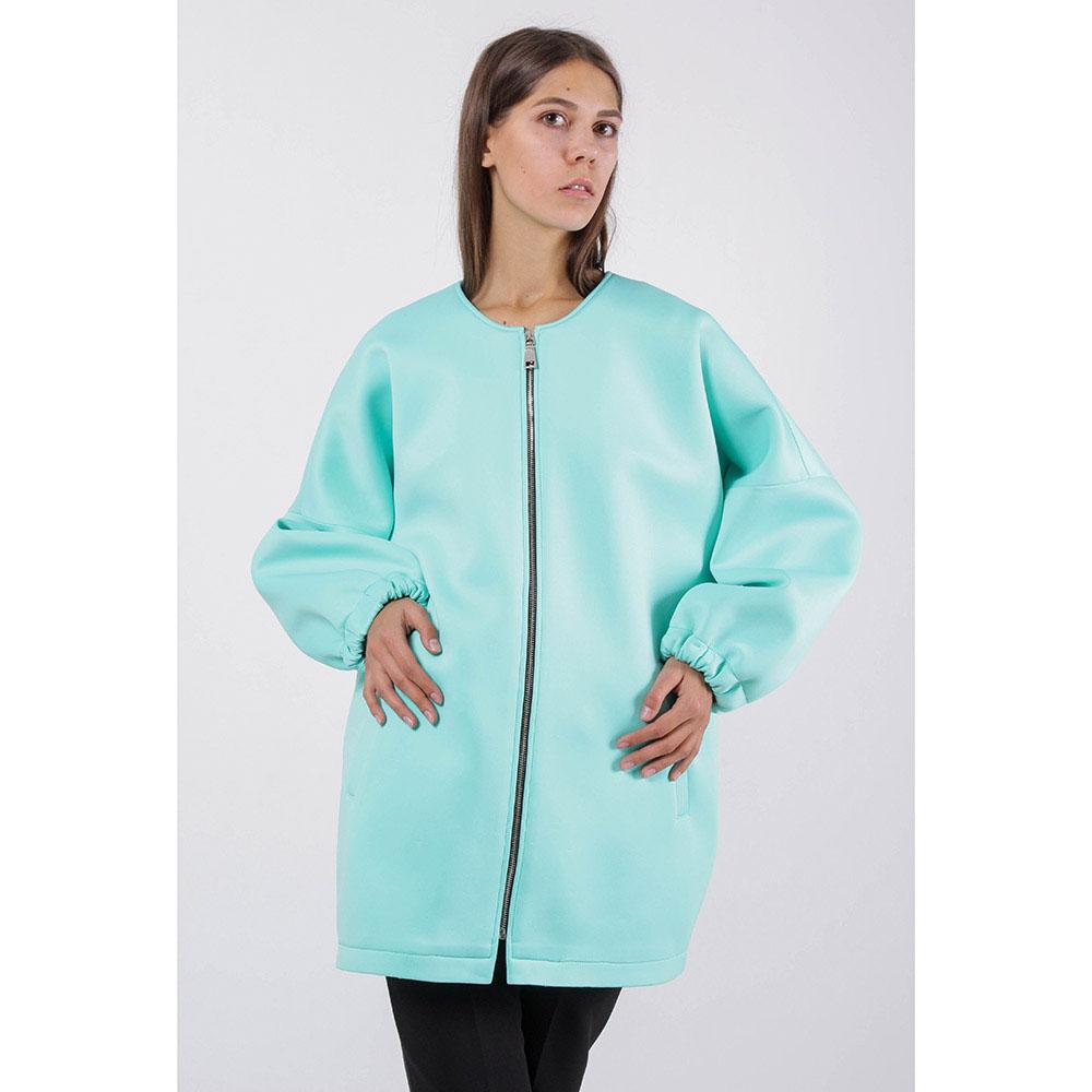 Куртка FOREVER UNIQUE мятного цвета с укороченным рукавом