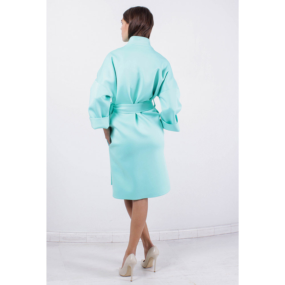 Пальто-кимоно FOREVER UNIQUE мятного цвета