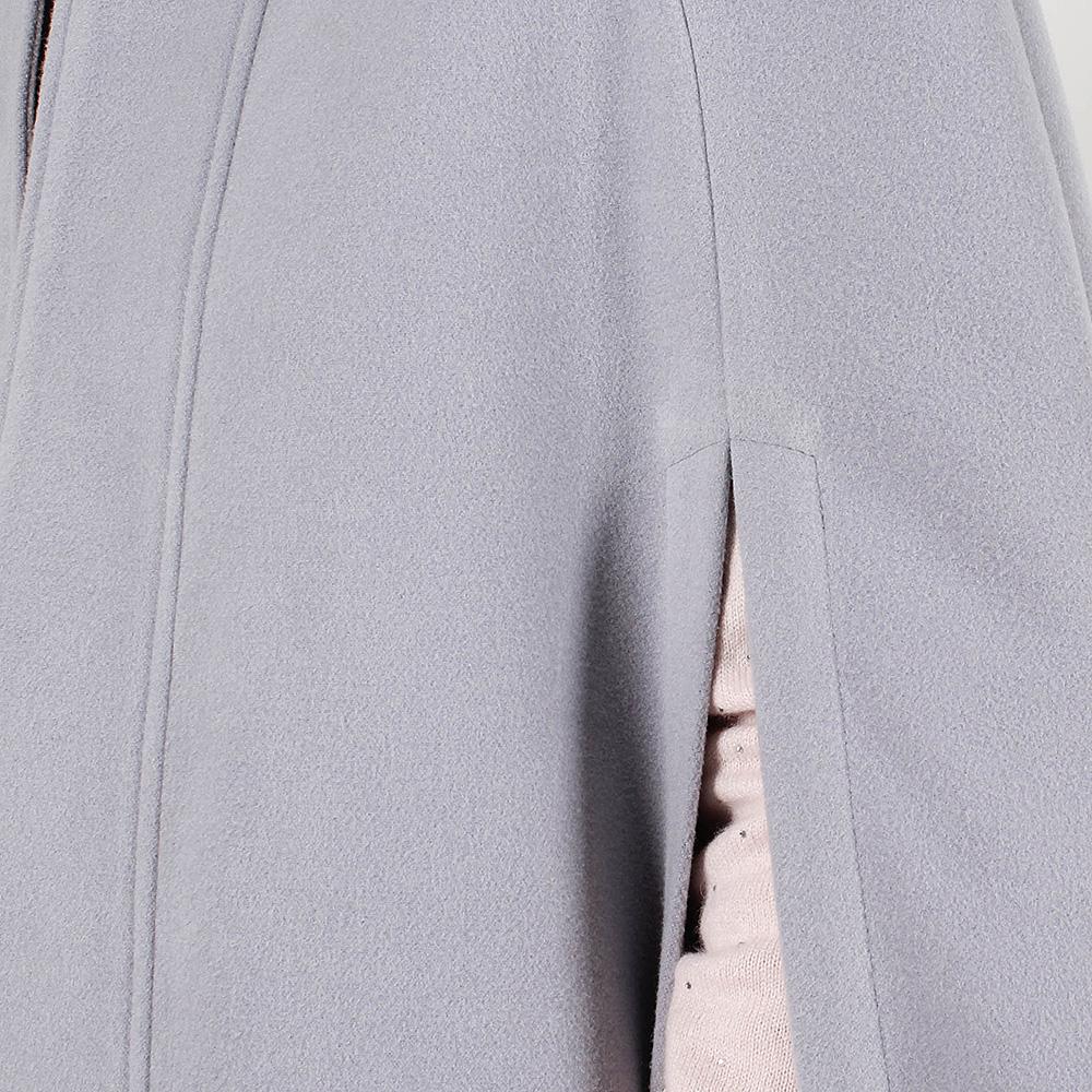 Пончо Plein Sud серо-голубого цвета