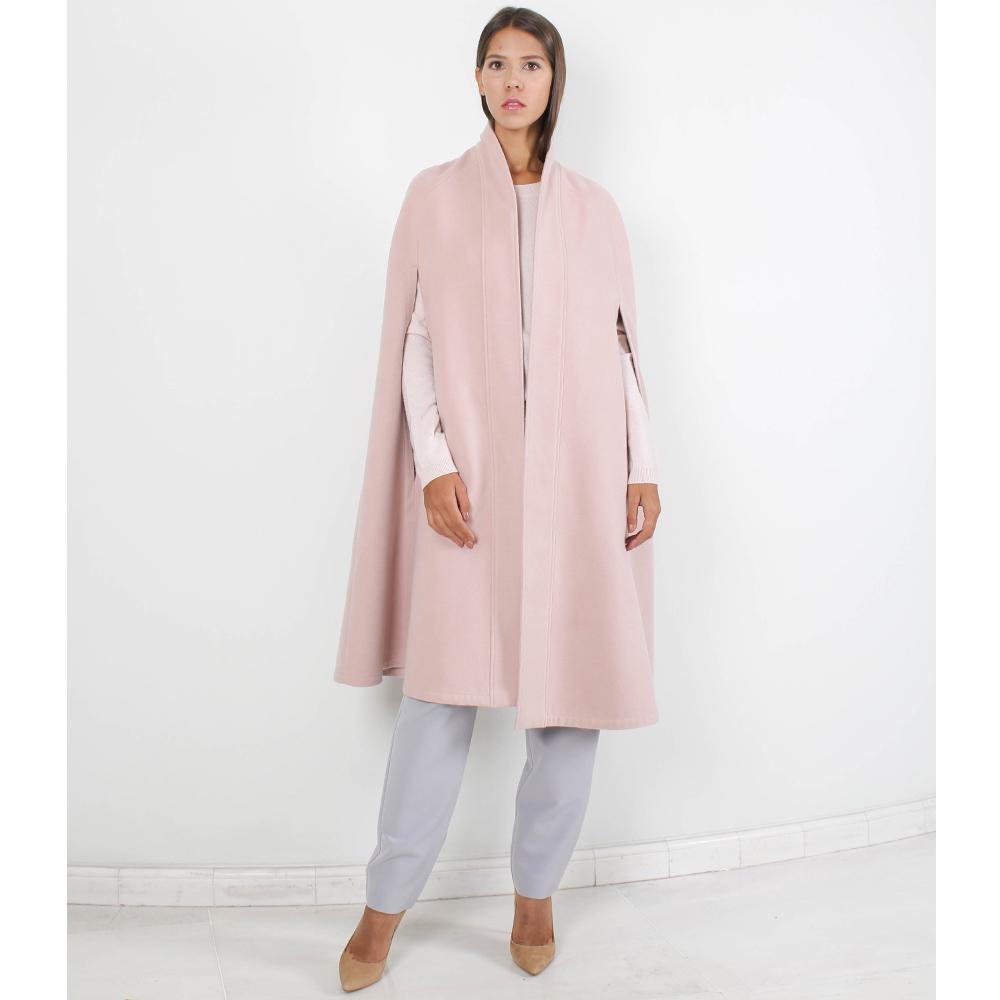 Пончо Plein Sud нежно-розового цвета