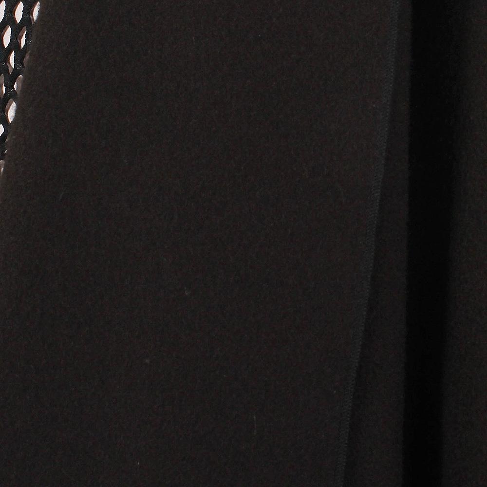 Шерстяной жилет Plein Sud черного цвета