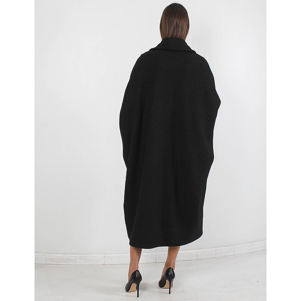 Пальто-оверсайз Forever Unique черного цвета
