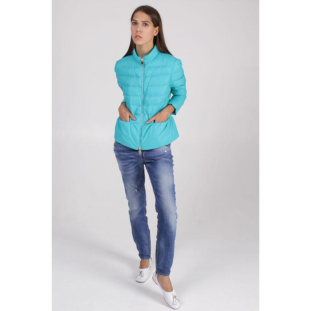 Куртка +MINI бирюзового цвета
