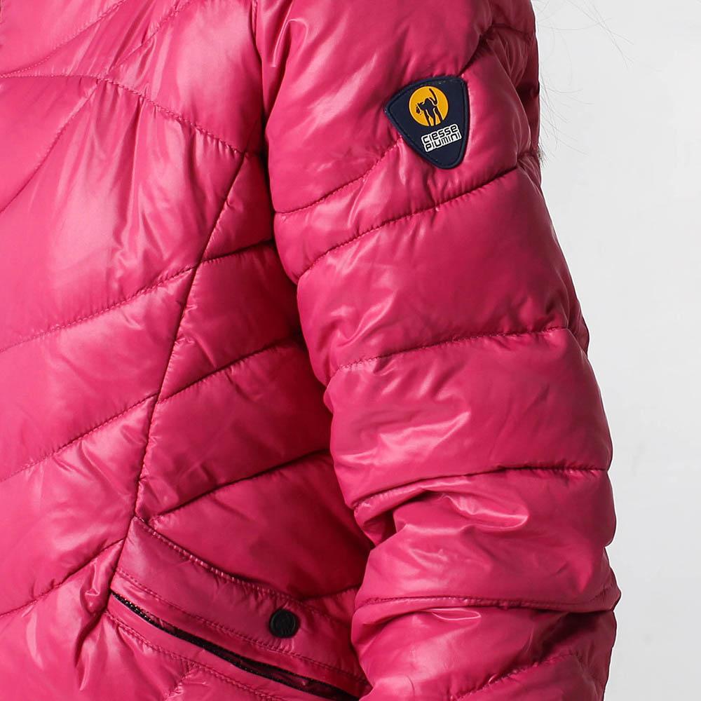 Куртка Ciesse Piumini розового цвета на пуху