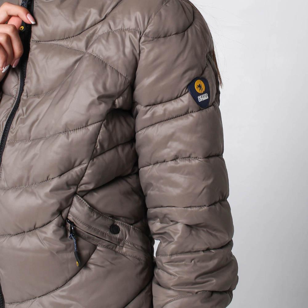 Куртка Ciesse Piumini серого цвета на пуху