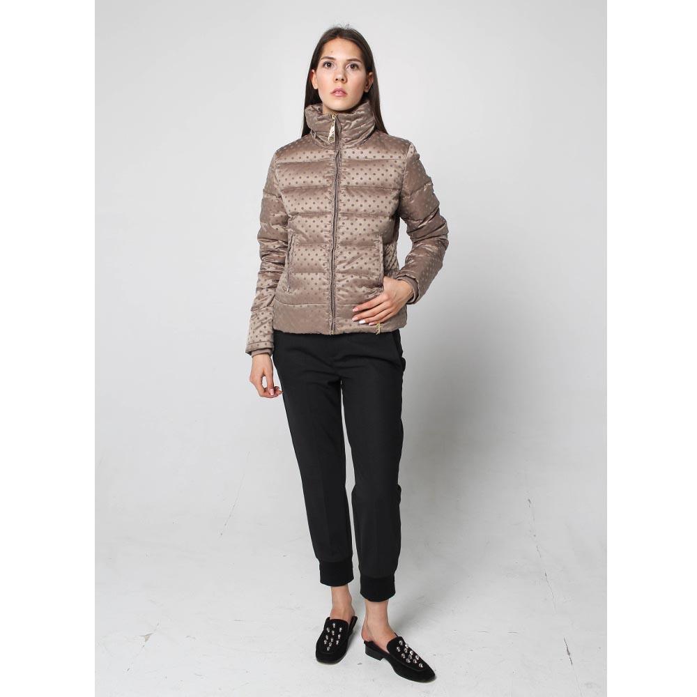 Куртка-пуховик Fracomina коричневого цвета