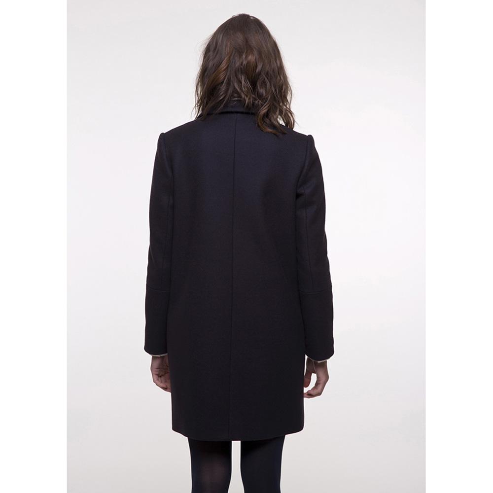 Пальто Trench & Coat прямого силуэта синего цвета