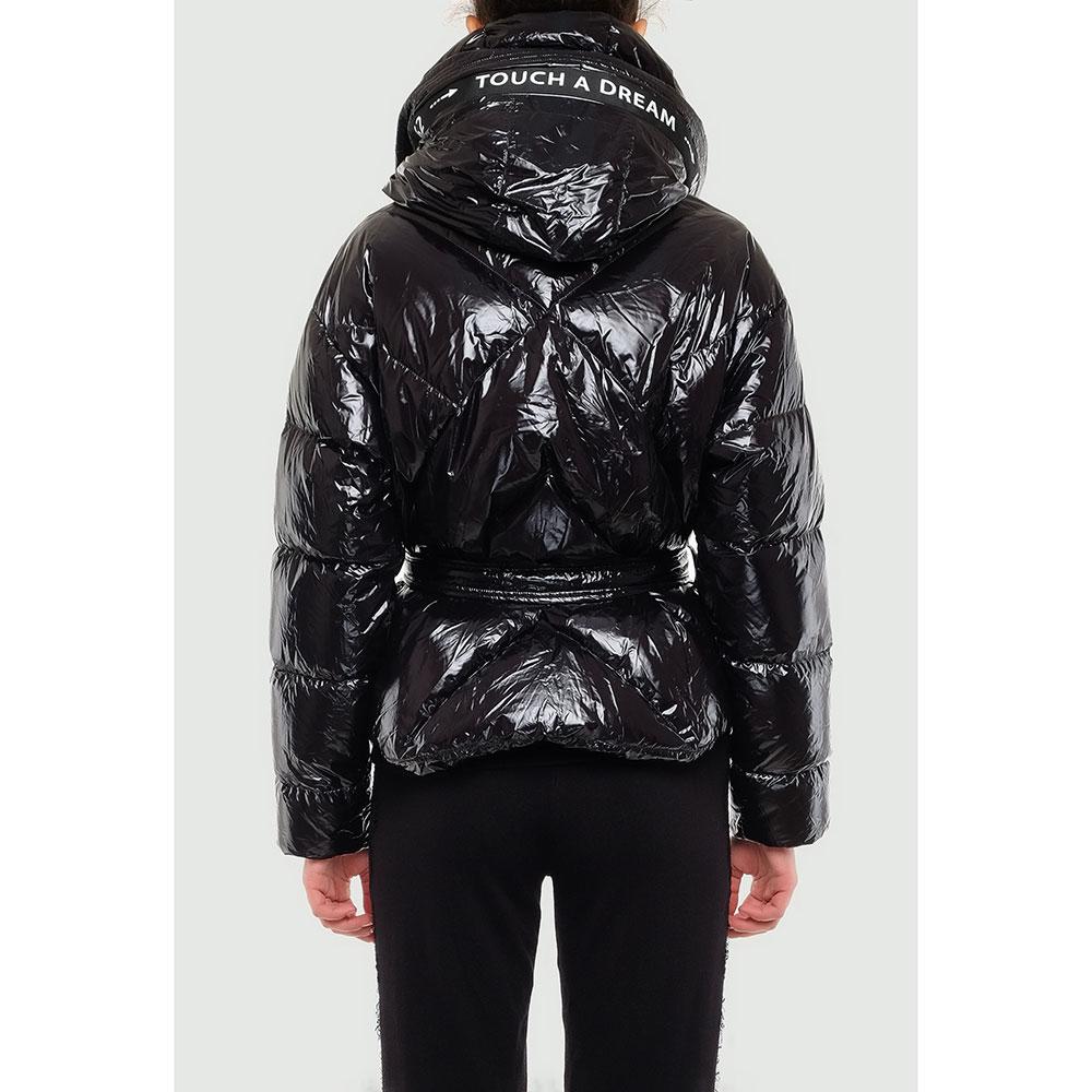 Черная куртка Montecore с геометрической стежкой