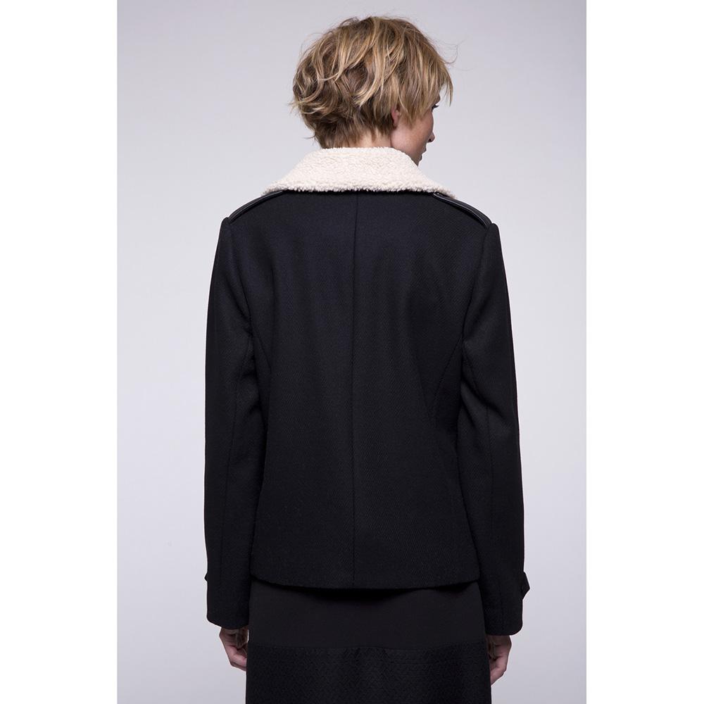 Пальто-косуха Trench & Coat черного цвета