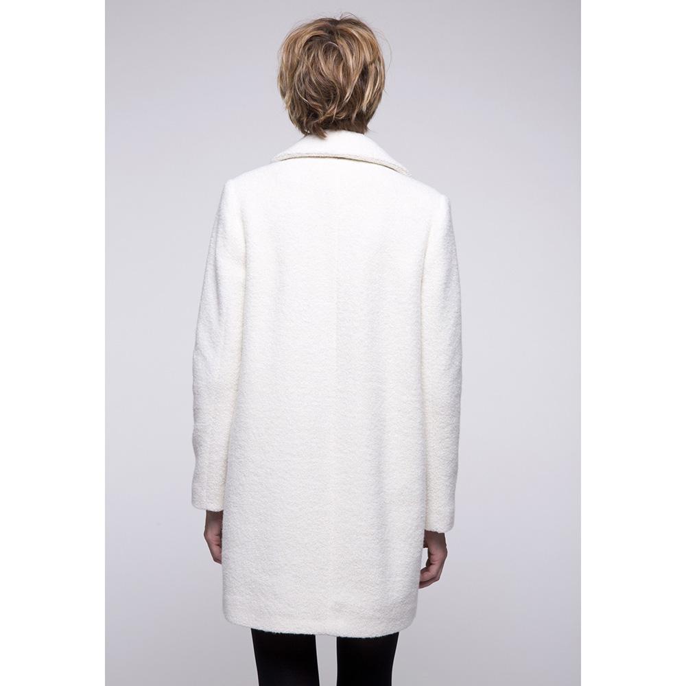 Мягкое пальто Trench & Coat белого цвета