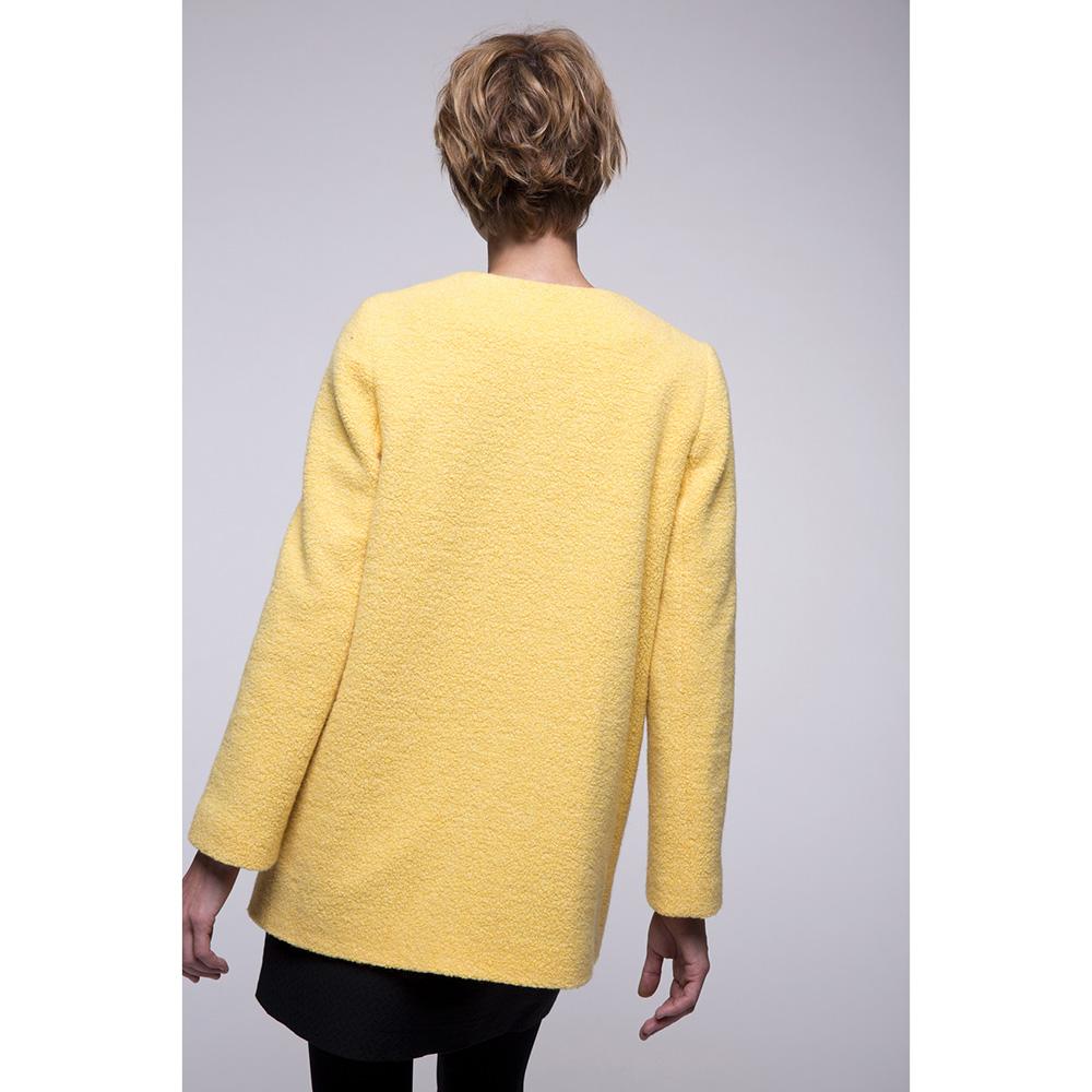 Пальто Trench & Coat прямого силуэта желтого цвета