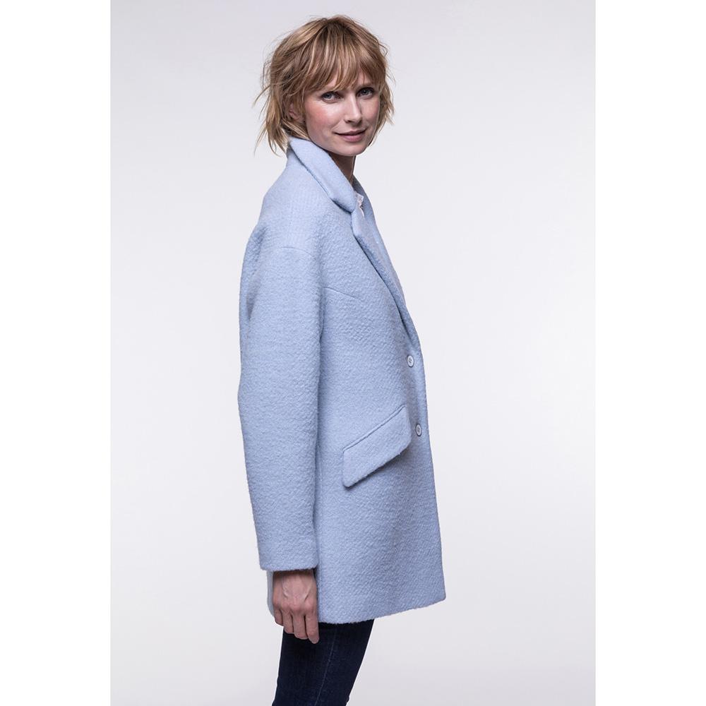 Мягкое пальто Trench & Coat голубого цвета