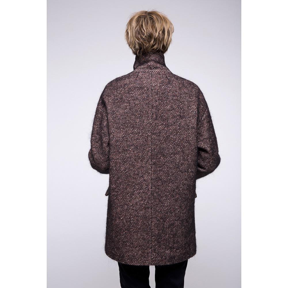 Пальто оверсайз Trench & Coat коричневого цвета