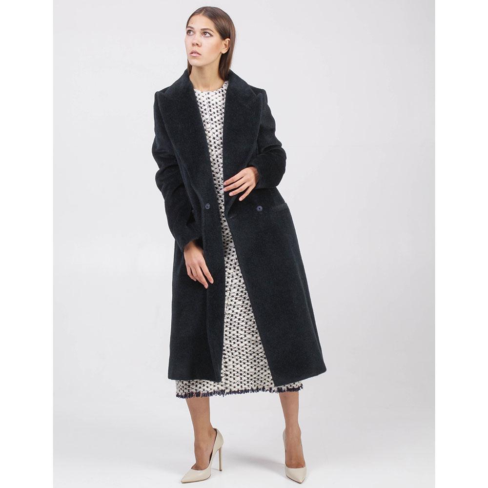 Демисезонное пальто Maison Margiela черного цвета