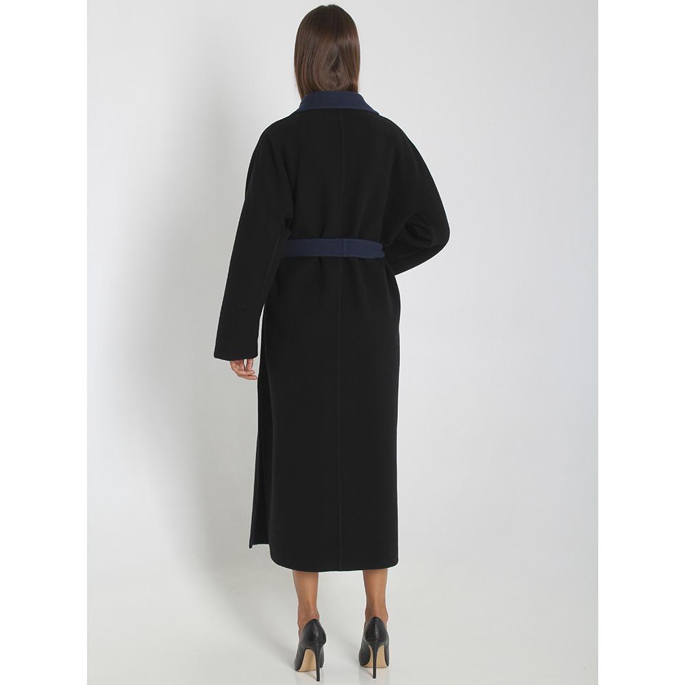 Шерстяное пальто Rochas с запахом