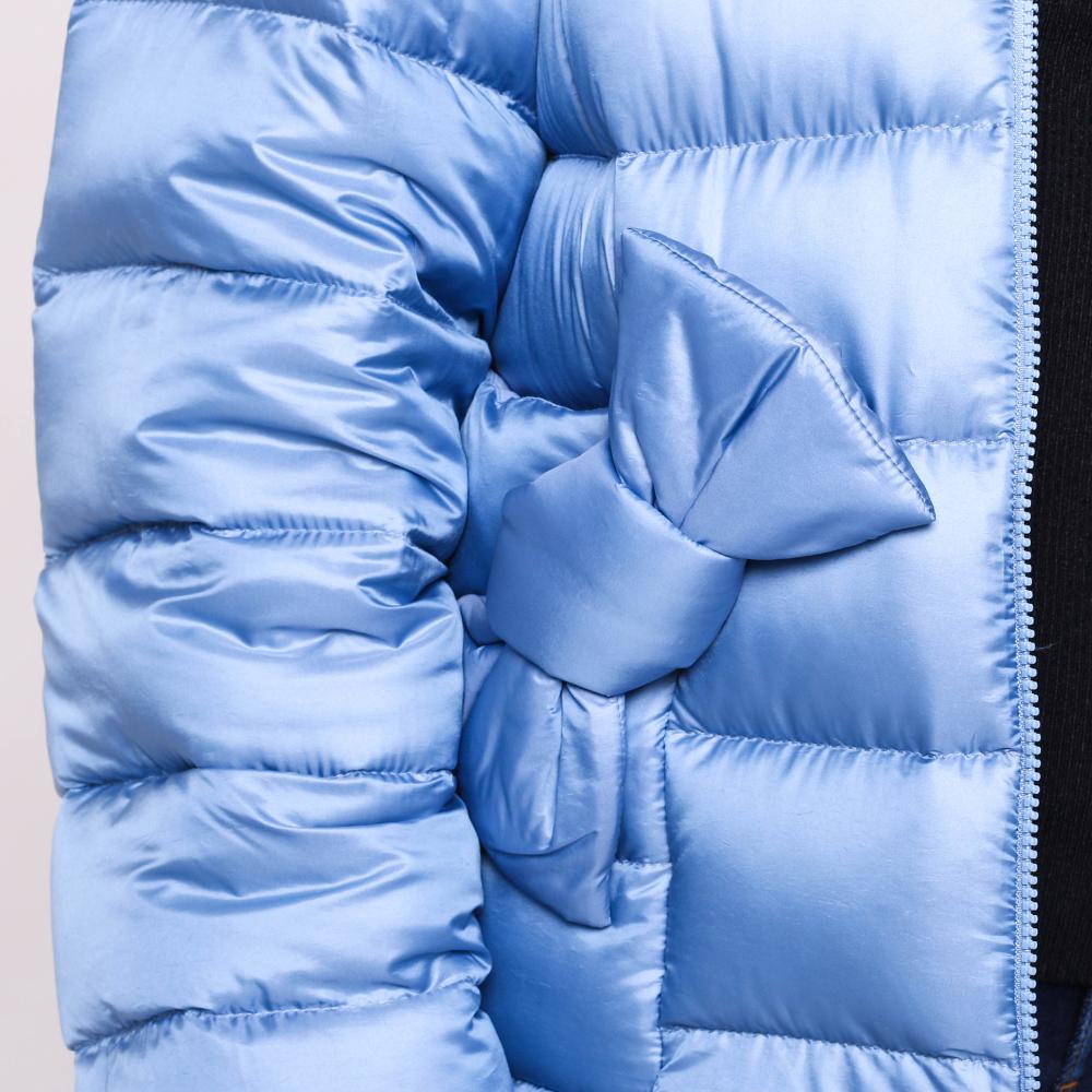 Куртка Red Valentino синего цвета с декором-бантом
