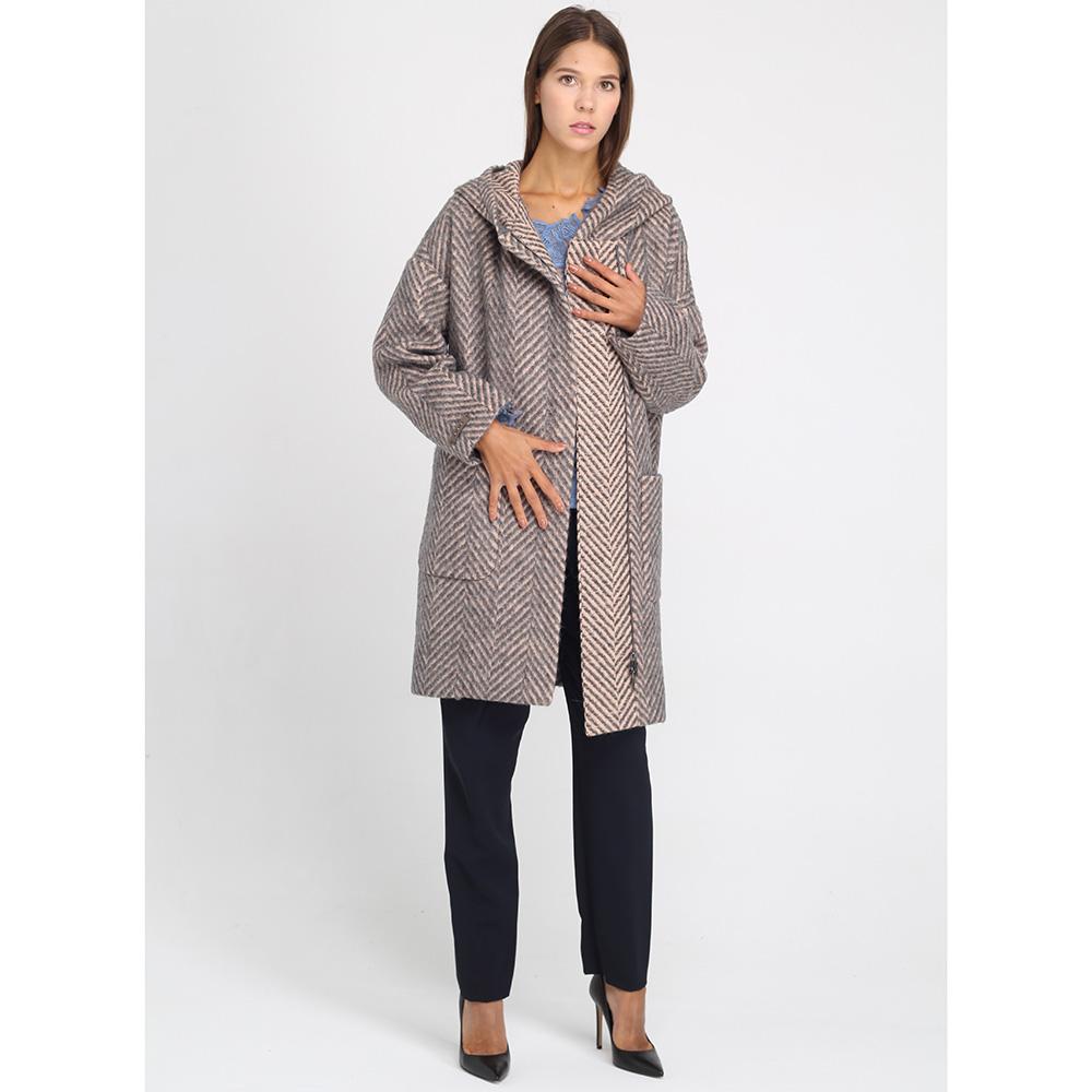 Пальто оверсайз Peserico с большими накладными карманами