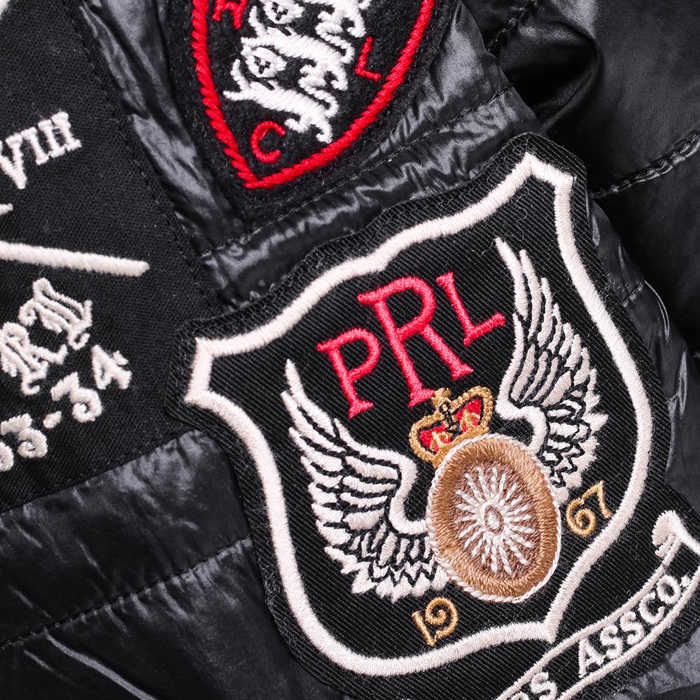 Куртка Polo Ralph Lauren черного цвета с принтом