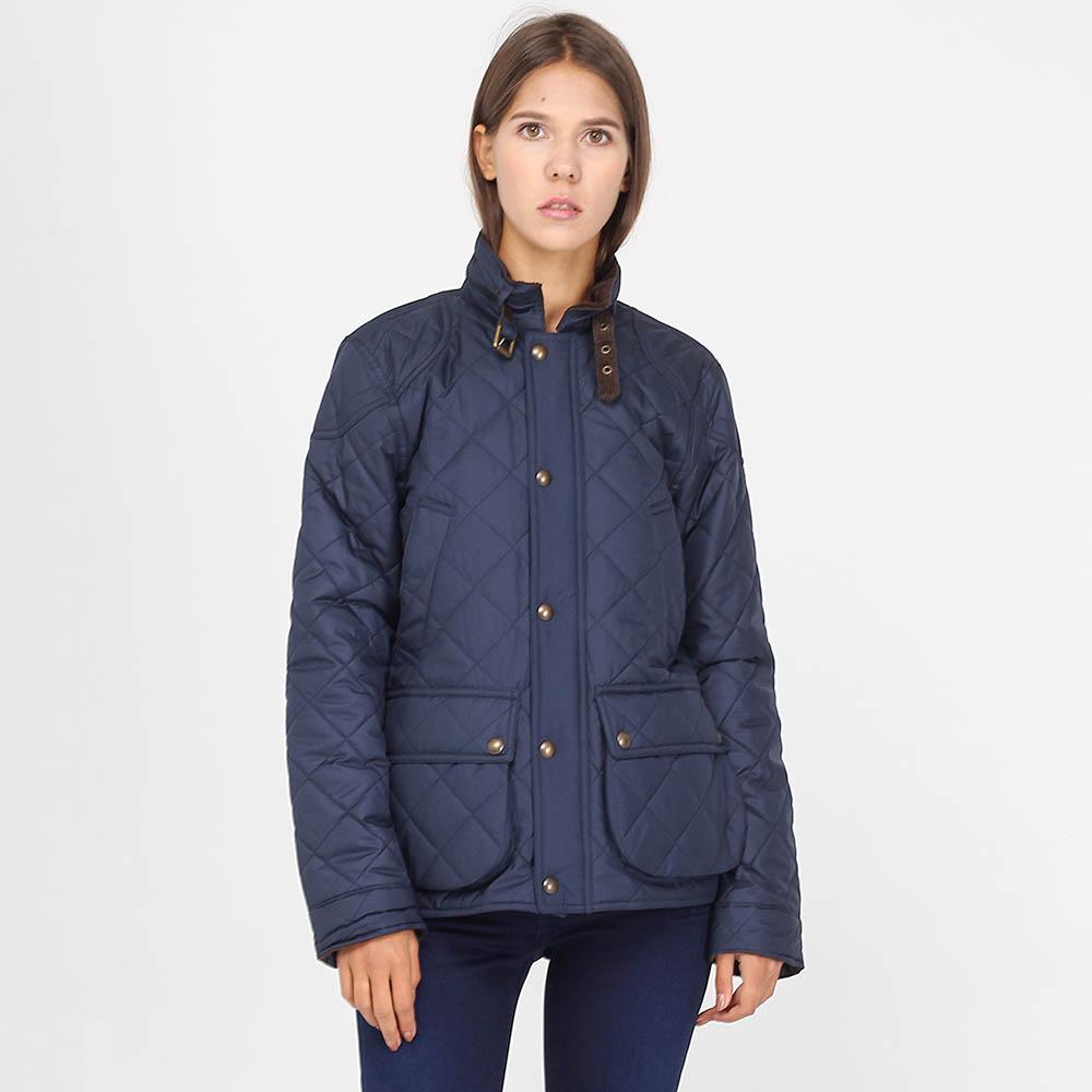 Стеганая куртка Polo Ralph Lauren синего цвета