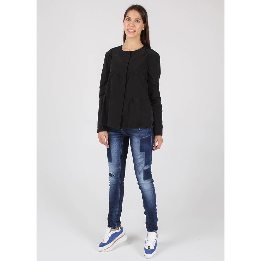 Куртка Armani Jeans из плащевой ткани расклешенная