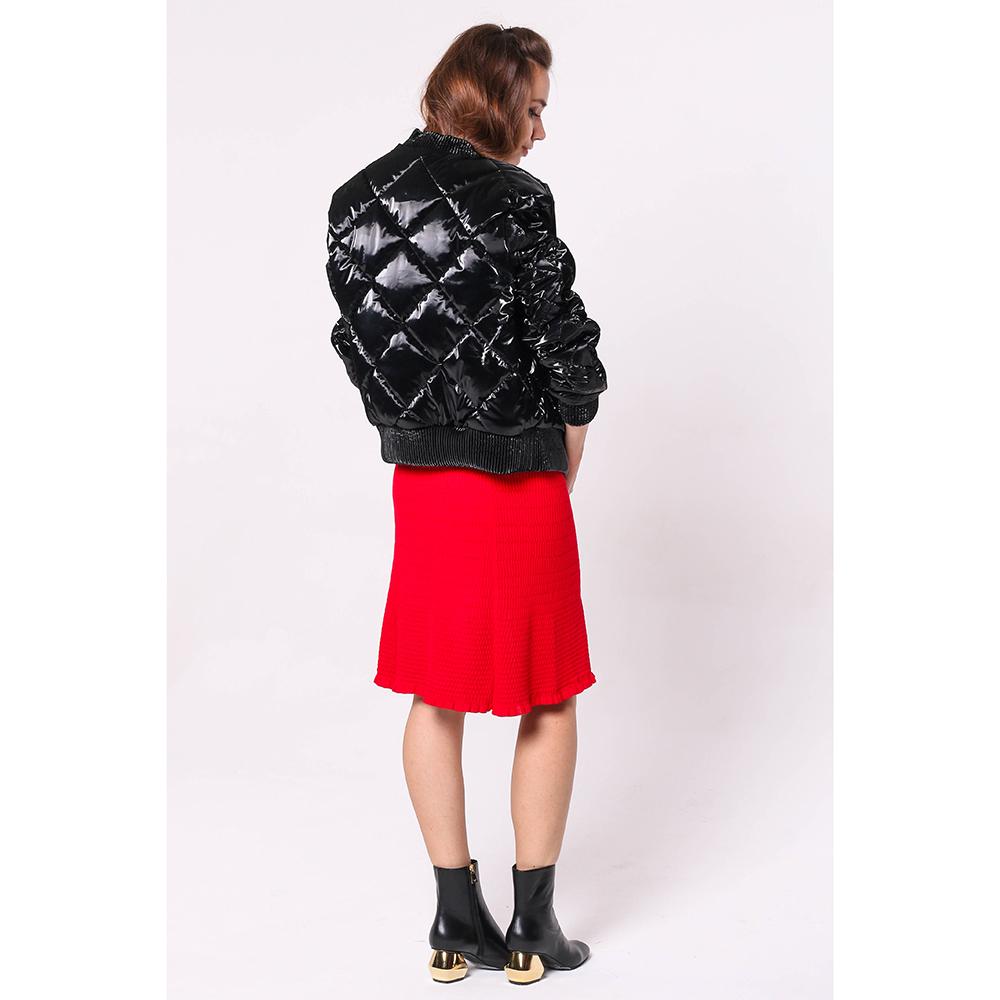 Короткая куртка Philipp Plein черного цвета